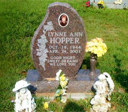HOPPER, LYNNE ANN - Boone County, Arkansas   LYNNE ANN HOPPER - Arkansas Gravestone Photos