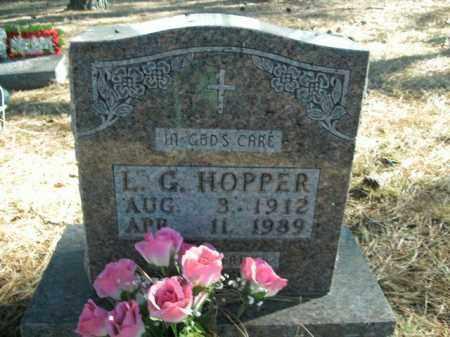 HOPPER, LUNCEFORD G. - Boone County, Arkansas | LUNCEFORD G. HOPPER - Arkansas Gravestone Photos