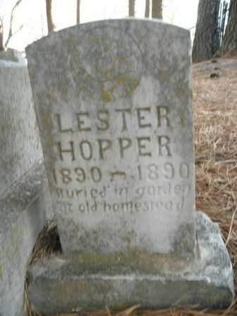 HOPPER, LESTER - Boone County, Arkansas | LESTER HOPPER - Arkansas Gravestone Photos