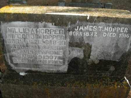 HOPPER  (VETERAN UNION), JAMES TOWNSEND - Boone County, Arkansas | JAMES TOWNSEND HOPPER  (VETERAN UNION) - Arkansas Gravestone Photos