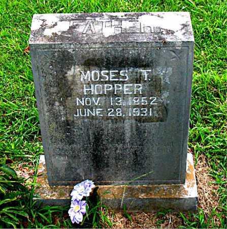 HOPPER, MOSES TOWN - Boone County, Arkansas   MOSES TOWN HOPPER - Arkansas Gravestone Photos