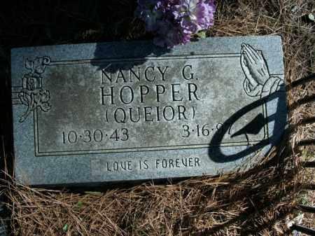 HOPPER, NANCY G. - Boone County, Arkansas | NANCY G. HOPPER - Arkansas Gravestone Photos