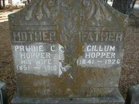 HOPPER  (VETERAN UNION), GILLUM - Boone County, Arkansas | GILLUM HOPPER  (VETERAN UNION) - Arkansas Gravestone Photos