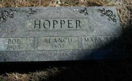 HOPPER, MARY LEE - Boone County, Arkansas | MARY LEE HOPPER - Arkansas Gravestone Photos
