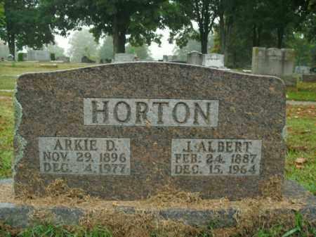 HORTON, ARKIE D. - Boone County, Arkansas | ARKIE D. HORTON - Arkansas Gravestone Photos