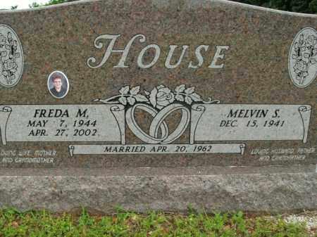 HOUSE, FREDA M. - Boone County, Arkansas | FREDA M. HOUSE - Arkansas Gravestone Photos