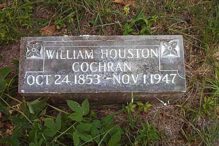 COCHRAN, WILLIAM HOUSTON - Boone County, Arkansas | WILLIAM HOUSTON COCHRAN - Arkansas Gravestone Photos