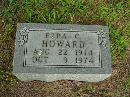 HOWARD, EZRA CLINTON - Boone County, Arkansas   EZRA CLINTON HOWARD - Arkansas Gravestone Photos