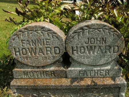 HOWARD, JOHN - Boone County, Arkansas | JOHN HOWARD - Arkansas Gravestone Photos