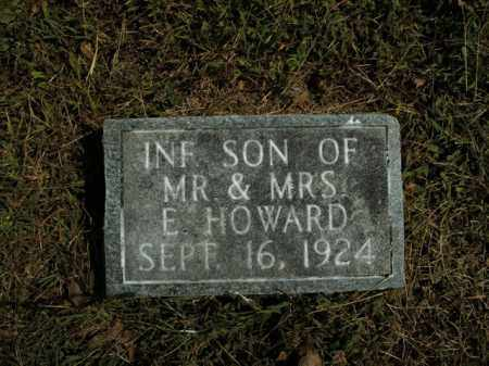 HOWARD, INFANT SON - Boone County, Arkansas | INFANT SON HOWARD - Arkansas Gravestone Photos