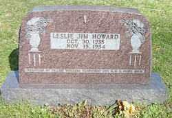 HOWARD, LESLIE JIM - Boone County, Arkansas   LESLIE JIM HOWARD - Arkansas Gravestone Photos