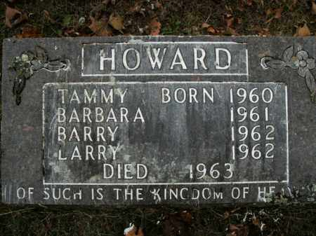HOWARD, BARRY - Boone County, Arkansas | BARRY HOWARD - Arkansas Gravestone Photos