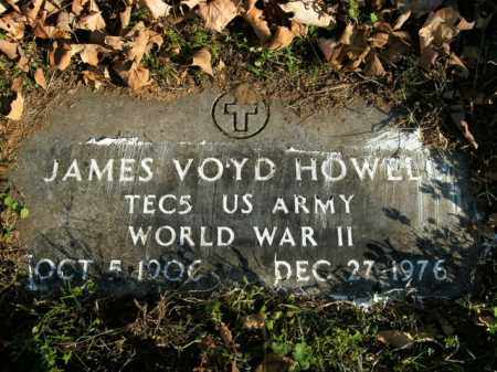 HOWELL  (VETERAN WWII), JAMES VOYD - Boone County, Arkansas | JAMES VOYD HOWELL  (VETERAN WWII) - Arkansas Gravestone Photos