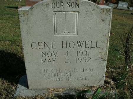 HOWELL, GENE - Boone County, Arkansas | GENE HOWELL - Arkansas Gravestone Photos