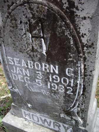 HOWRY, SEABORN G. - Boone County, Arkansas | SEABORN G. HOWRY - Arkansas Gravestone Photos