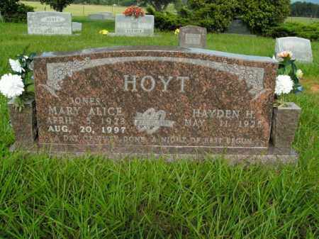 HOYT, MARY ALICE - Boone County, Arkansas | MARY ALICE HOYT - Arkansas Gravestone Photos