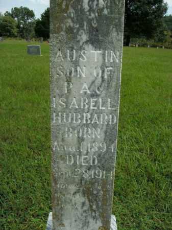 HUBBARD, AUSTIN - Boone County, Arkansas | AUSTIN HUBBARD - Arkansas Gravestone Photos