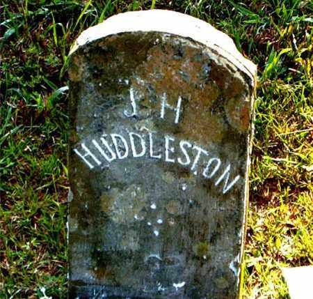 HUDDLESTON, J. H. - Boone County, Arkansas   J. H. HUDDLESTON - Arkansas Gravestone Photos