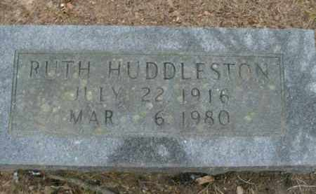 HUDDLESTON, RUTH - Boone County, Arkansas | RUTH HUDDLESTON - Arkansas Gravestone Photos
