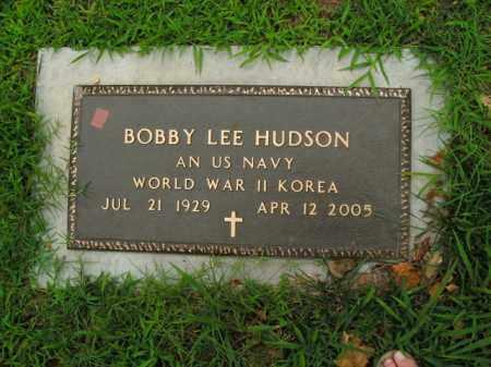 HUDSON  (VETERAN 2 WARS), BOBBY LEE - Boone County, Arkansas   BOBBY LEE HUDSON  (VETERAN 2 WARS) - Arkansas Gravestone Photos