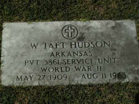 HUDSON  (VETERAN WWII), W. TAFT - Boone County, Arkansas | W. TAFT HUDSON  (VETERAN WWII) - Arkansas Gravestone Photos