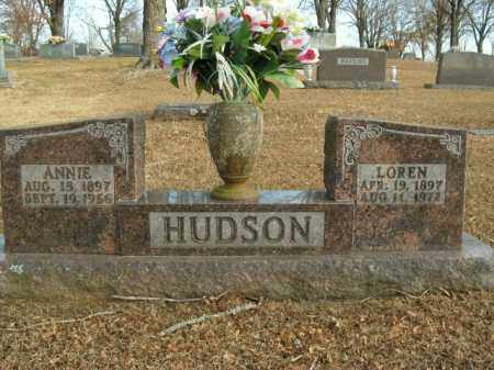 HUDSON, LOREN - Boone County, Arkansas | LOREN HUDSON - Arkansas Gravestone Photos