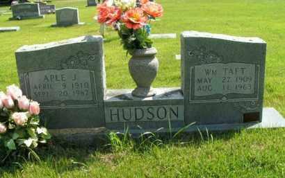 HUDSON, WM. TAFT - Boone County, Arkansas | WM. TAFT HUDSON - Arkansas Gravestone Photos