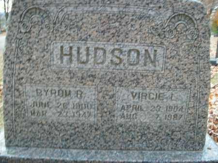 HUDSON, BYROM RICHESIN - Boone County, Arkansas | BYROM RICHESIN HUDSON - Arkansas Gravestone Photos