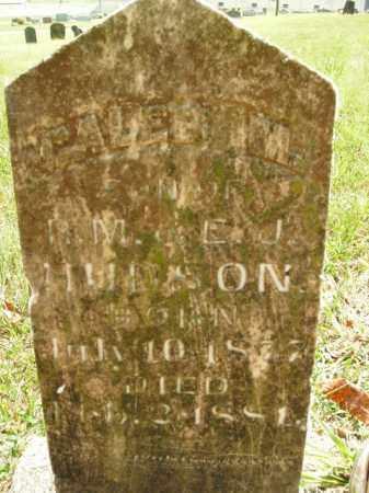 HUDSON, CALEB M. - Boone County, Arkansas   CALEB M. HUDSON - Arkansas Gravestone Photos