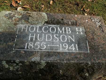 HUDSON, HOLCOMB H. - Boone County, Arkansas | HOLCOMB H. HUDSON - Arkansas Gravestone Photos