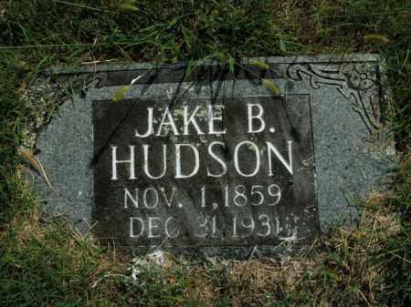 HUDSON, JAKE B. - Boone County, Arkansas   JAKE B. HUDSON - Arkansas Gravestone Photos