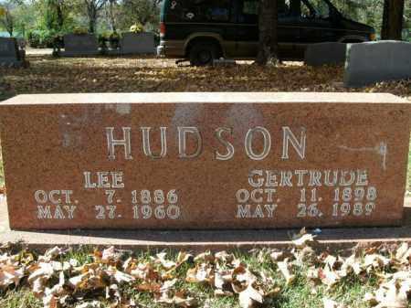 HUDSON (VETERAN WWI), LEE - Boone County, Arkansas | LEE HUDSON (VETERAN WWI) - Arkansas Gravestone Photos