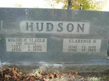 HUDSON, MINNIE C. - Boone County, Arkansas   MINNIE C. HUDSON - Arkansas Gravestone Photos