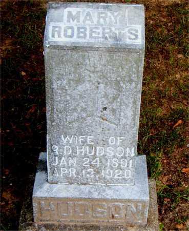 HUDSON, MARY - Boone County, Arkansas   MARY HUDSON - Arkansas Gravestone Photos
