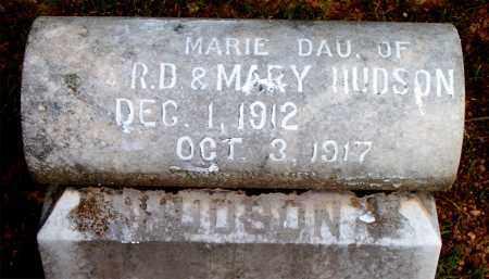 HUDSON, MARIE - Boone County, Arkansas | MARIE HUDSON - Arkansas Gravestone Photos