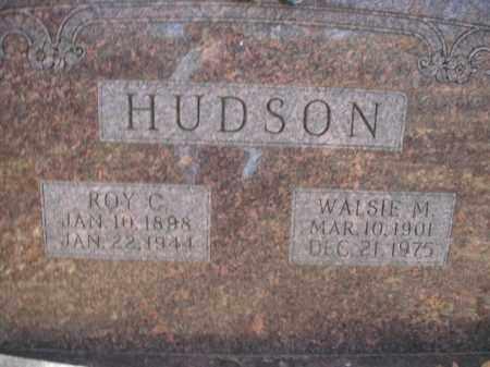 HUDSON, WALSIE M. - Boone County, Arkansas | WALSIE M. HUDSON - Arkansas Gravestone Photos