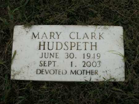 RUBLE HUDSPETH, MARY - Boone County, Arkansas   MARY RUBLE HUDSPETH - Arkansas Gravestone Photos