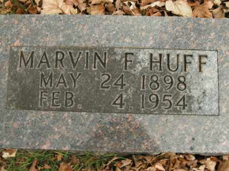 HUFF, MARVIN F. - Boone County, Arkansas | MARVIN F. HUFF - Arkansas Gravestone Photos