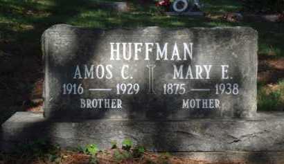 HUFFMAN, AMOS C. - Boone County, Arkansas | AMOS C. HUFFMAN - Arkansas Gravestone Photos