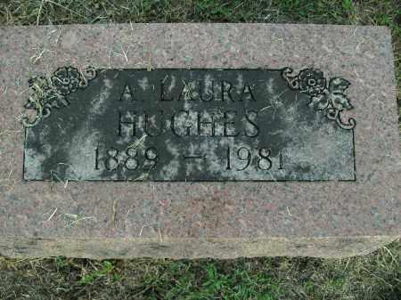 HUGHES, A LAURA - Boone County, Arkansas   A LAURA HUGHES - Arkansas Gravestone Photos