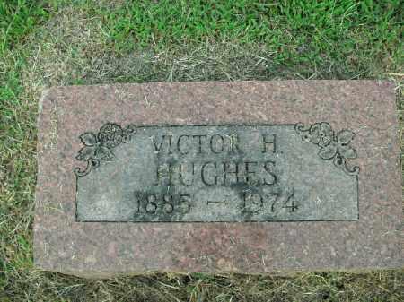HUGHES, VICTOR H. - Boone County, Arkansas   VICTOR H. HUGHES - Arkansas Gravestone Photos