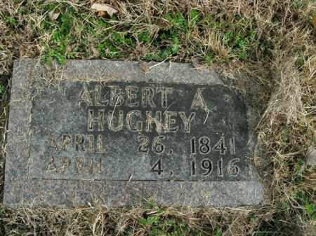 HUGHEY, ALBERT A. - Boone County, Arkansas | ALBERT A. HUGHEY - Arkansas Gravestone Photos