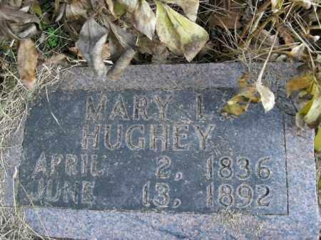 HUGHEY, MARY I. - Boone County, Arkansas   MARY I. HUGHEY - Arkansas Gravestone Photos