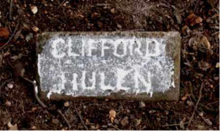 HULEN, CLIFFORD - Boone County, Arkansas | CLIFFORD HULEN - Arkansas Gravestone Photos