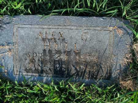 HULL, ALEX C. - Boone County, Arkansas | ALEX C. HULL - Arkansas Gravestone Photos