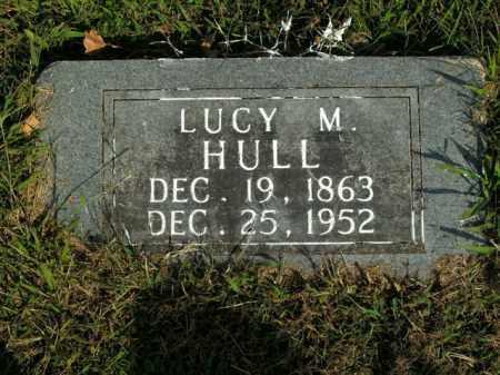 HULL, LUCY M. - Boone County, Arkansas | LUCY M. HULL - Arkansas Gravestone Photos