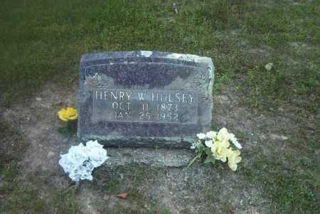 HULSEY, HENRY W - Boone County, Arkansas   HENRY W HULSEY - Arkansas Gravestone Photos