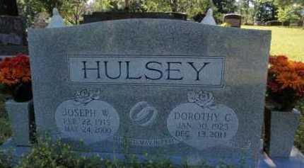 HULSEY, JOSEPH W. - Boone County, Arkansas   JOSEPH W. HULSEY - Arkansas Gravestone Photos