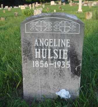 HULSIE, ANGELINE - Boone County, Arkansas   ANGELINE HULSIE - Arkansas Gravestone Photos