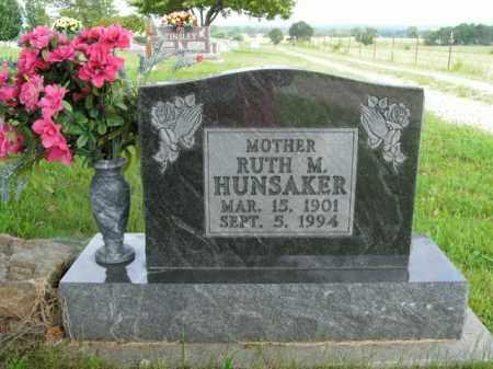 HUNSAKER, RUTH M. - Boone County, Arkansas | RUTH M. HUNSAKER - Arkansas Gravestone Photos